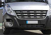 Renault Master 2010 Накладки на противотуманки