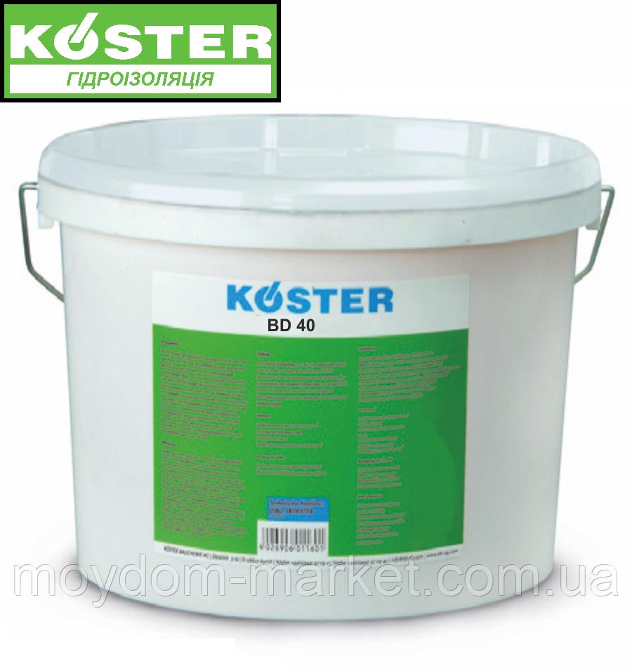 "Гідроізоляція для ванних кімнат KÖSTER BD 40, 6кг, ""рідка мембрана"""