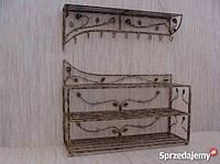 Мебель в прихожую (кованая банкетка и вешалка ) 41