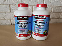 Kirkland Glucosamine 1500 mg with MSM, Глюкозамин, 375 капсул