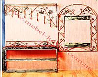 Мебель в прихожую (кованая банкетка и вешалка ) 43