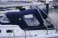 Ходовые тенты для лодок и катеров