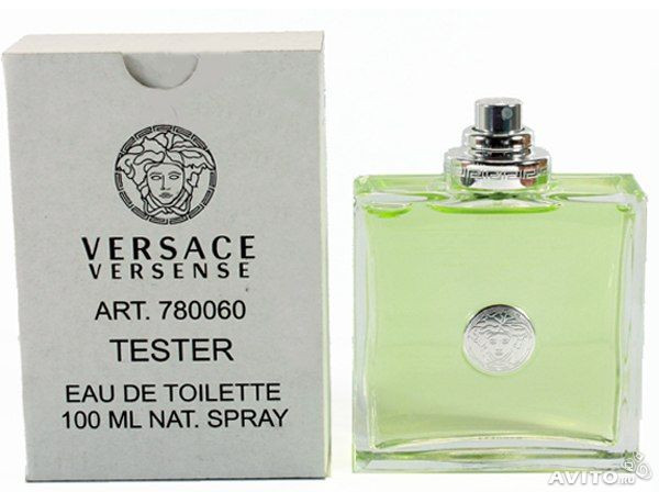 Versace Versense туалетная вода 100 ml. (Тестер Версаче Версенсе)
