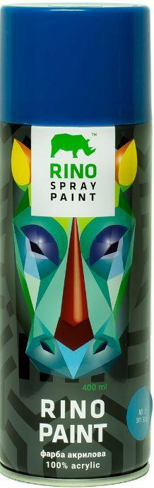 Универсальная акриловая аэрозольная эмаль Rino Paint (Небесно-голубая RP-15)