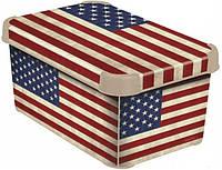 Ящик для хранения декоративный США S CURVER