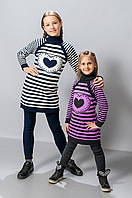 Детские вязанные туники оптом, фото 1