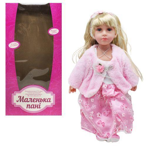 """Кукла """"Маленькая пани"""" светло-розовый M4043UA"""