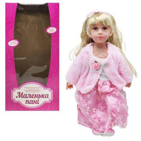 """Кукла """"Маленькая пани"""" светло-розовый M4043UA, фото 2"""