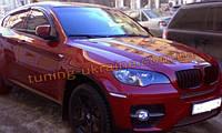 Дефлекторы окон (ветровики) Cobra Tuning на BMW X6 (E71-E72) 2008 + , фото 1
