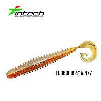 """Приманка Intech Turborib 4""""(5 шт) (IN77)"""