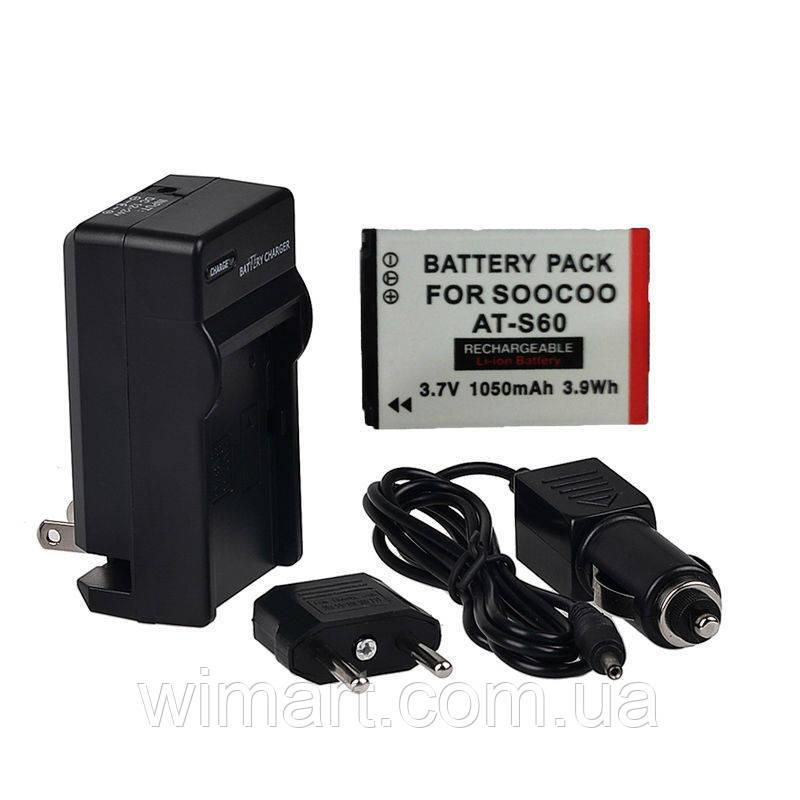 Зарядний пристрій з акумуляторами Soocoo S60 WiFi.