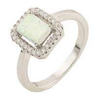 Серебряное кольцо DreamJewelry с опалом (0533469) 17 размер