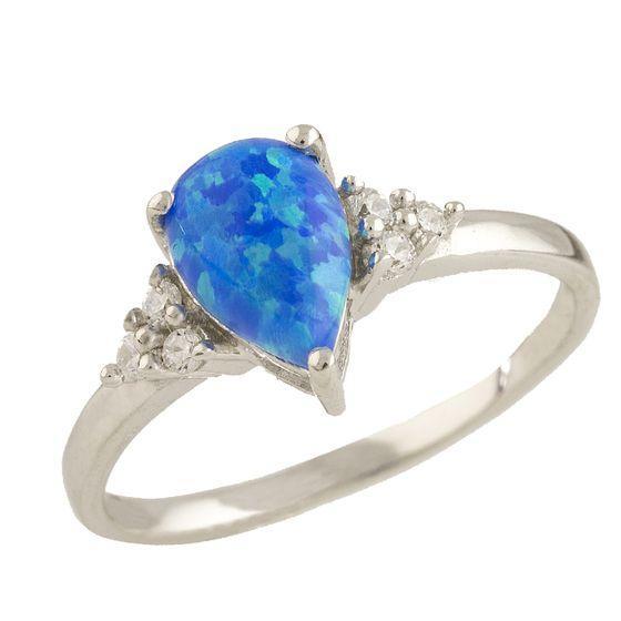 Серебряное кольцо DreamJewelry с опалом 0.87ct (0703299) 17.5 размер