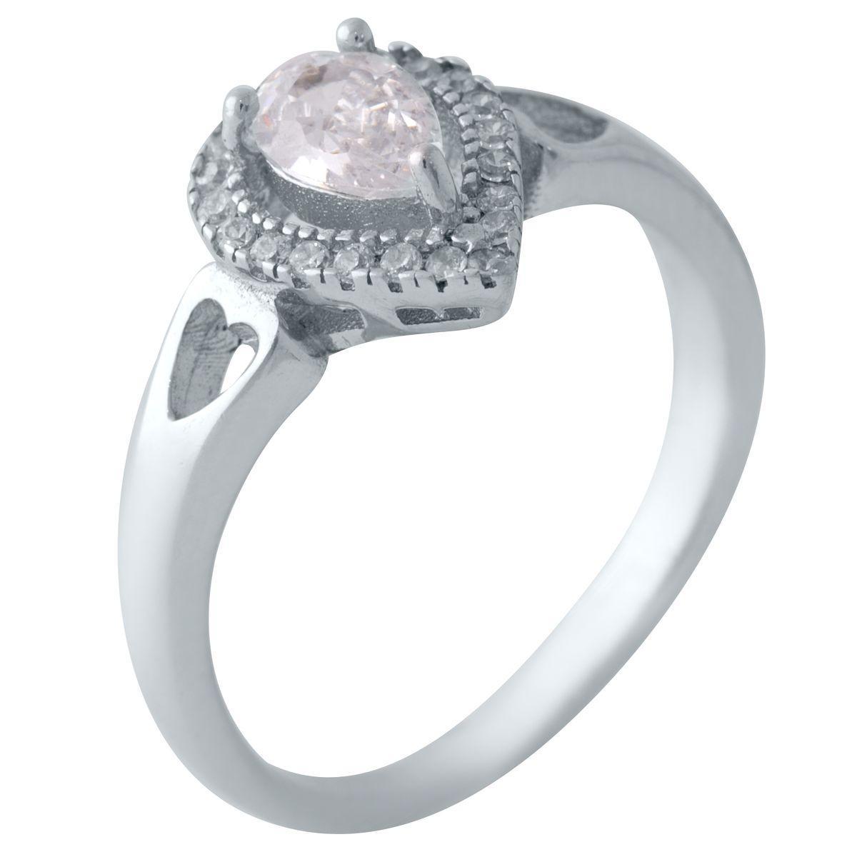 Серебряное кольцо DreamJewelry с фианитами (2011323) 16 размер