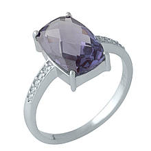Серебряное кольцо DreamJewelry с олександритом (1131985) 18 размер