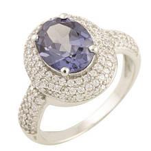 Серебряное кольцо DreamJewelry с олександритом (1454282) 18 размер