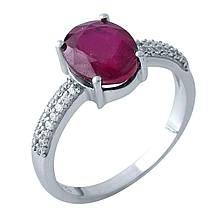 Серебряное кольцо DreamJewelry с натуральным рубином (1968116) 16.5 размер