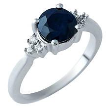 Серебряное кольцо DreamJewelry с натуральным сапфиром (1912447) 16.5 размер