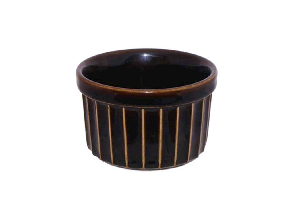 Форма для випічки Полигенько чорний глянець 200 мл упаковка 6 шт