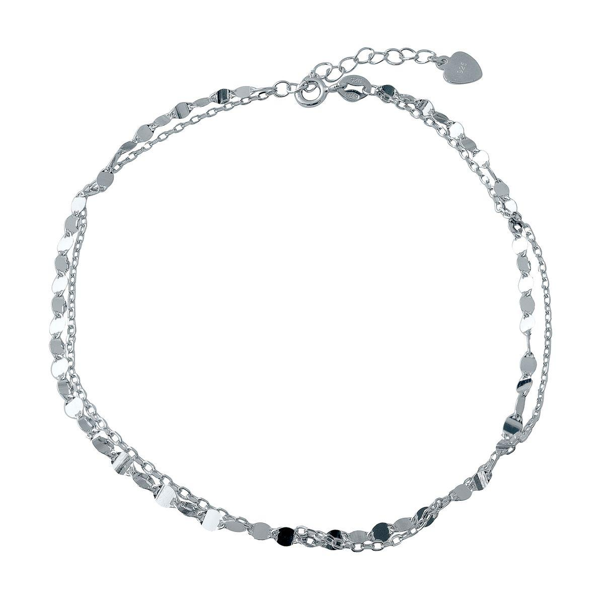 Серебряный браслет на ногу DreamJewelry без камней (2005711) 2326 размер