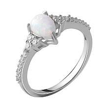 Серебряное кольцо DreamJewelry с опалом (2050001) 17 размер