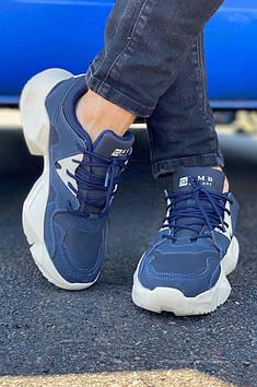 Кросівки жіночі темно-сині AAA 122544T