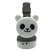 Детские беспроводные наушники WUT Cartoon Animals «Панда»