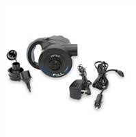 Электрический аккумуляторный воздушный насос Intex 66622 Quick-Fill RECHARGEGEABLE Pump, 220В/12В