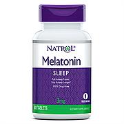 Мелатонин, Melatonin 3 мг, Natrol, 60 таблеток