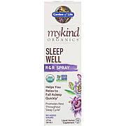 Органическая Травяная Смесь Для Сна, MyKind Organics, Sleep Well, Garden of Life, R&R спрей, 2 жидких унции