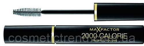 Тушь для ресниц  Max Factor 2000 Calorie Dramatic Look объемная черная  9 мл (США), фото 2