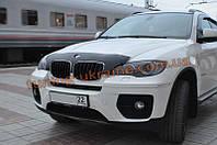 Дефлектор капота (мухобойка) SIM для BMW X6 (E71-E72) с 2008