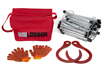 Универсальная спасательная лестница Uniladder 7L-35 Silver (vol-480)