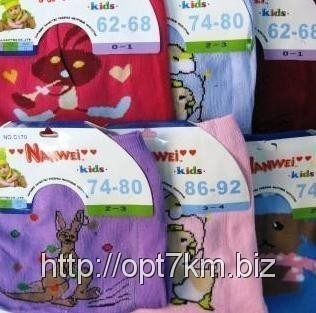 Колготы детские Nanwei Baby Махра С170