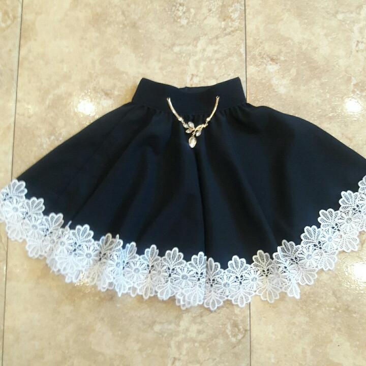 Очень красивая,нарядная юбка для школьницы