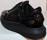 Кроссовки женские кожаные от производителя модель РИ016, фото 4
