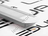 Врезной алюминиевый профиль вместе с рассеивателем  для LED ленты АЛ-01-1, фото 7