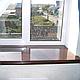 Підвіконня Danke Венге Глянець 700 мм вологостійкий, стійкий до подряпин, для вікон, фото 4