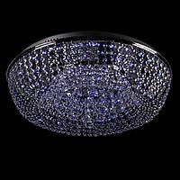 Хрустальная люстра с LED подсветкой на пульте управления на 8 лампочек (хром). P5-E0966/8/CH