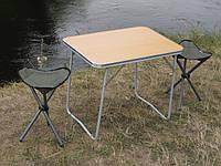 """Туристическая мебель """"На природе О1+2"""" (Складной стол в чехле и 2 складных стула в чехле)"""