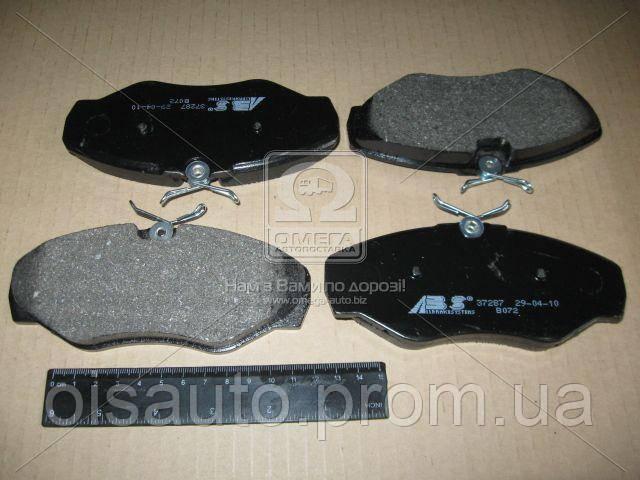 Колодка торм. диск. NISSAN/OPEL/RENAULT PRIMASTAR/VIVARO/TRAFIC передн. (пр-во ABS)