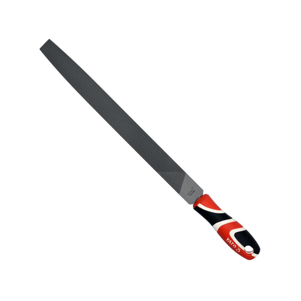 Напильник по металлу плоский YATO 150 мм #1