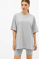 Женская однотонная футболка, фото 1