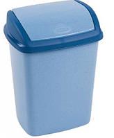 Корзина для мусора 10 Л DOMINIK голубая