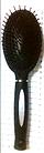 Расчёска для волос Q.P.I. PROFESSIONAL массажная пластиковая РП-0037 (В7), фото 2