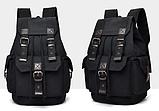 Рюкзак з лямками мішковина, фото 7