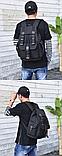 Рюкзак з лямками мішковина, фото 5