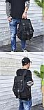 Рюкзак з лямками мішковина, фото 6
