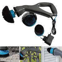 Электрическая беспроводная щетка для уборки Muscle Scrubber. Электрощетка для уборки всех поверхностей