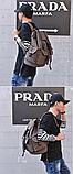 Рюкзак з лямками мішковина, фото 3